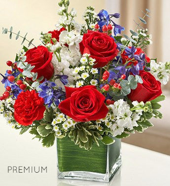 Star and Stripes Arrangement