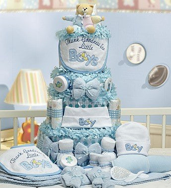 Baby Boy Essentials Cake