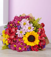 Deals on Sunflower Sunshine Single Bouquet