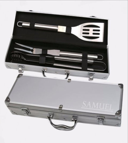 Personalized 3-Piece BBQ Set