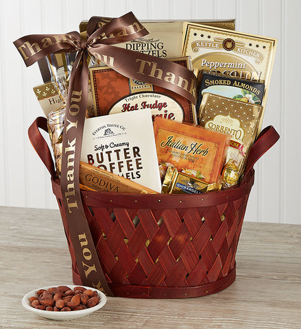 A Very Special Thank You Basket