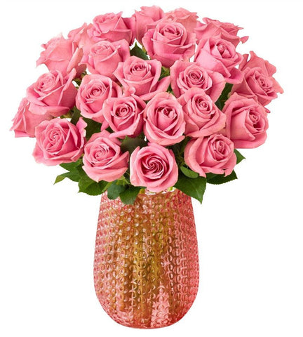 Pink Roses, 12-24 Stems