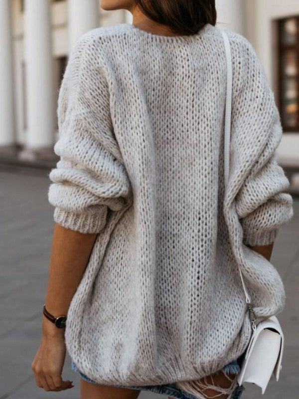 Mid-Length Loose Sweater