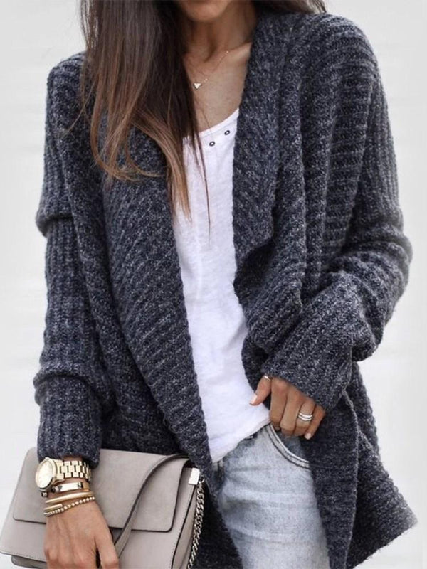 Regular Wrapped Loose Winter Sweater