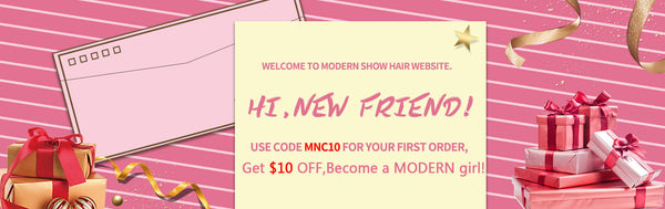 modern show hair promotions