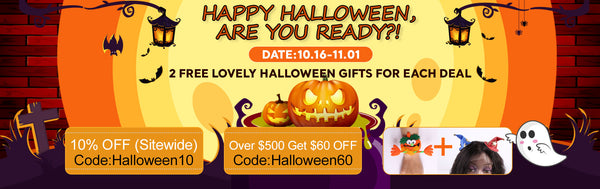 Halloween promotion modernshowhair