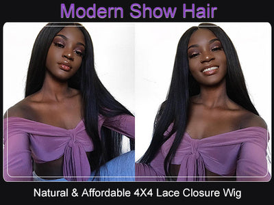 Why 4*4 Lace Closure Wig Is More And More Popular ?