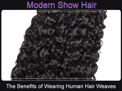The Benefits of Wearing Human Hair Weaves