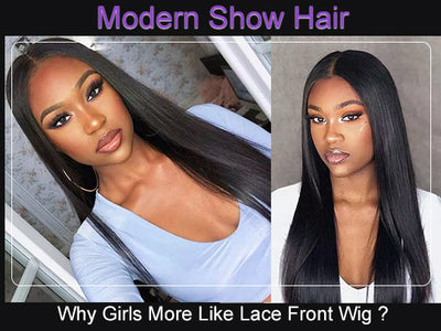 Why Girls More Like Lace Front Wig ?