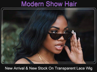 New Arrival And New Stock On Transparent Lace Front Wig.