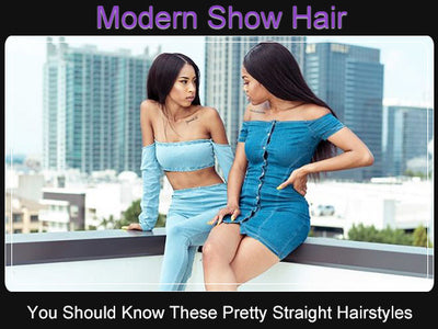 You Should Know These Pretty Hairstyles On Straight Hair