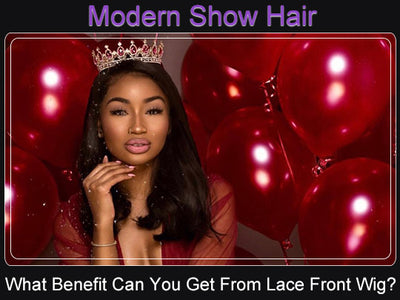 What Benefits Can You Get From Lace Front Wig?