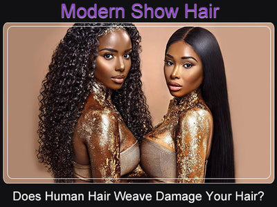 Does Human Hair Weave Damage Your Own Hair?
