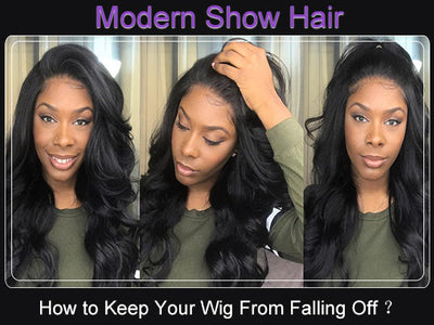 How to Keep Your Wig From Falling Off?