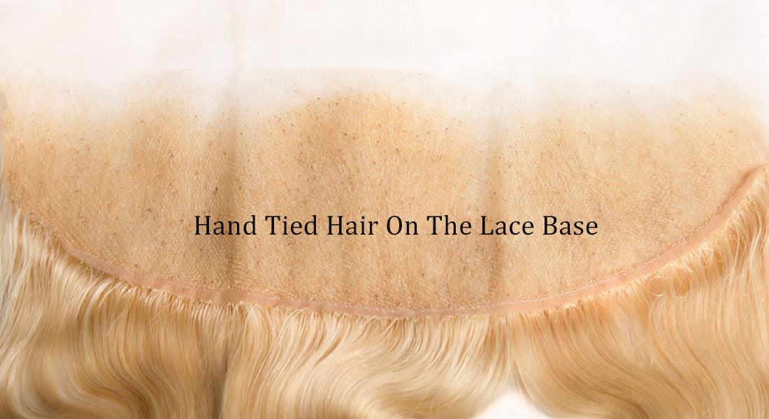 ms 613 blonde color body wave lace frontal lace image in description