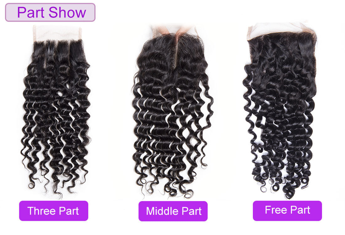 Lace closure part design show in description