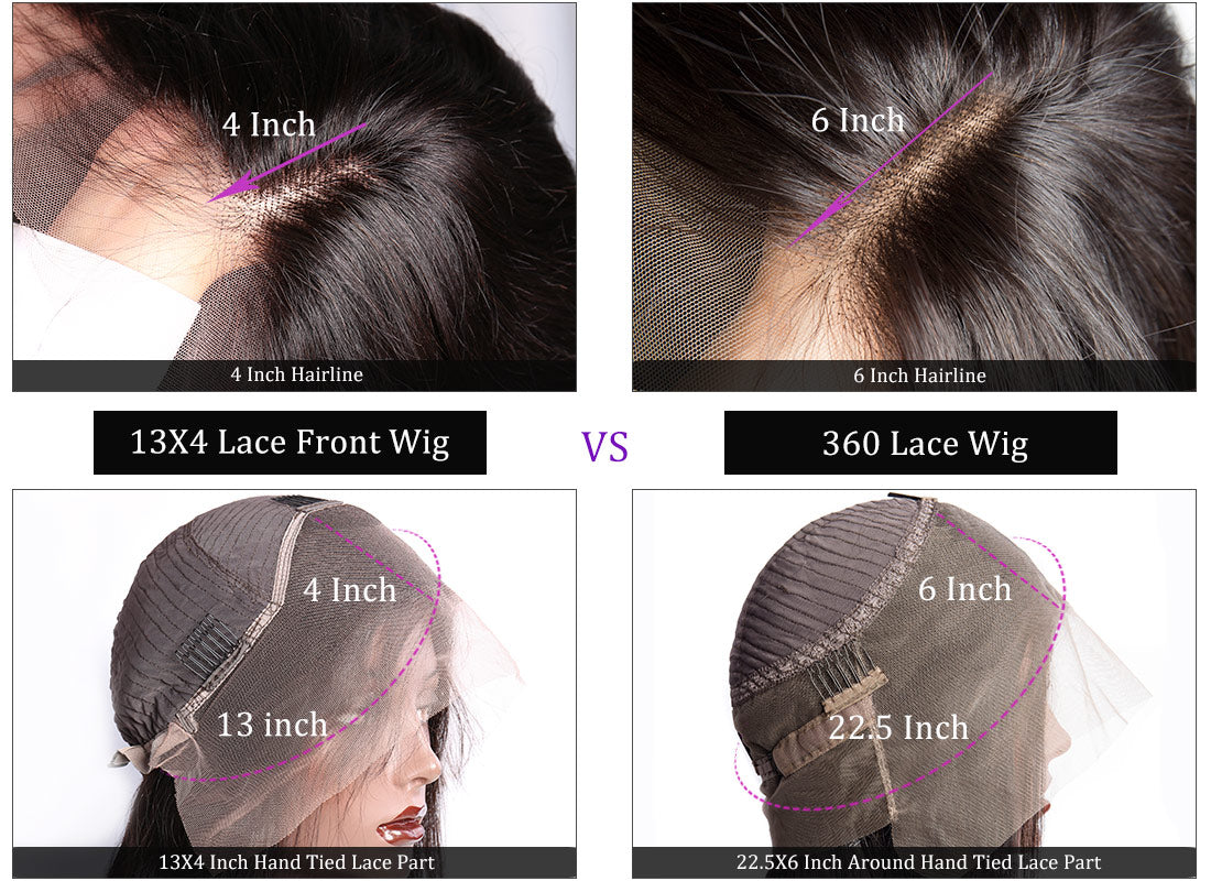 ms hair 13x4 lace front wig with 360 lace wig cap lase show in description