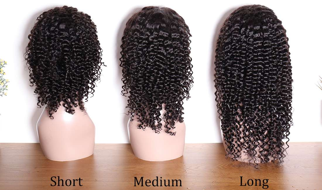 ms hair deep wave curly 13x4 lace front wigs different length back show in description