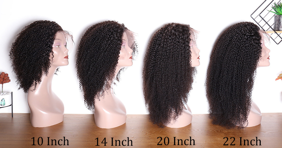 ms hair kinky curly lace front wigs length show in description