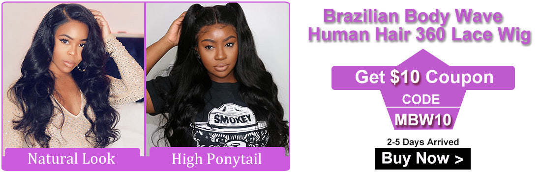 ms modern show hair brazilian body wave 360 lace frontal wigs for promotion