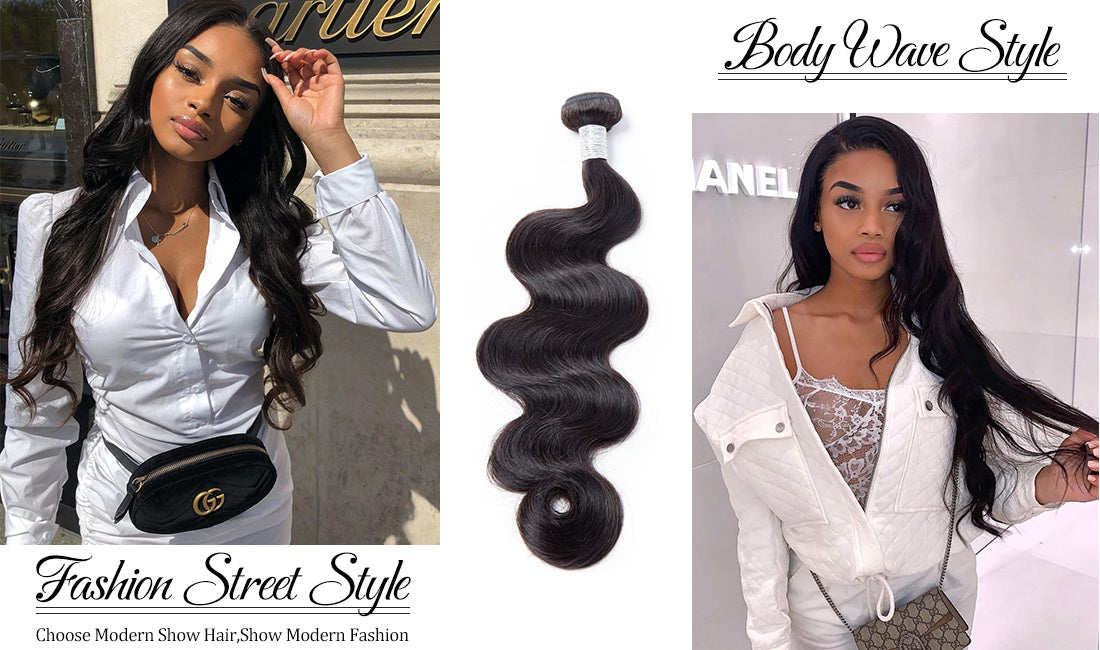 ms body wave hair style show in description
