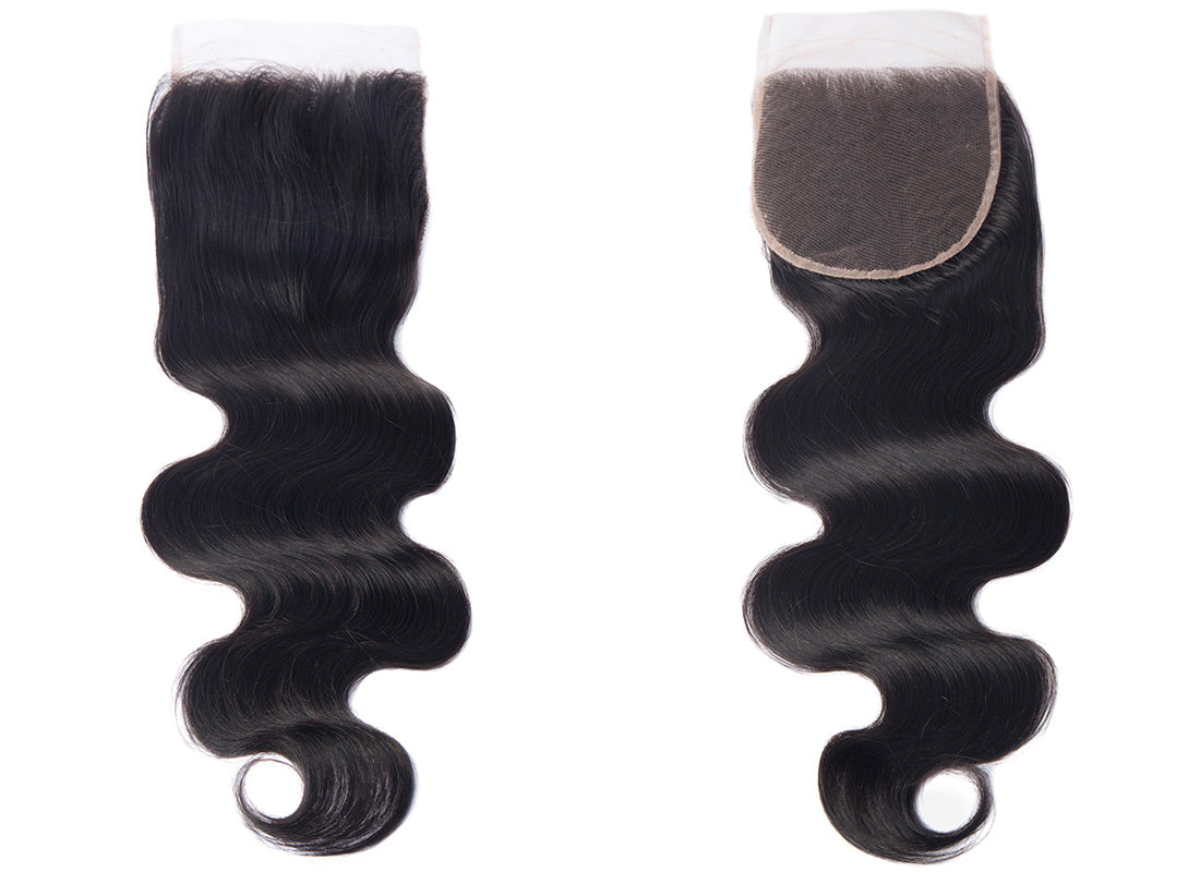 ms remy hair body wave 5x5 lace closure image show in description