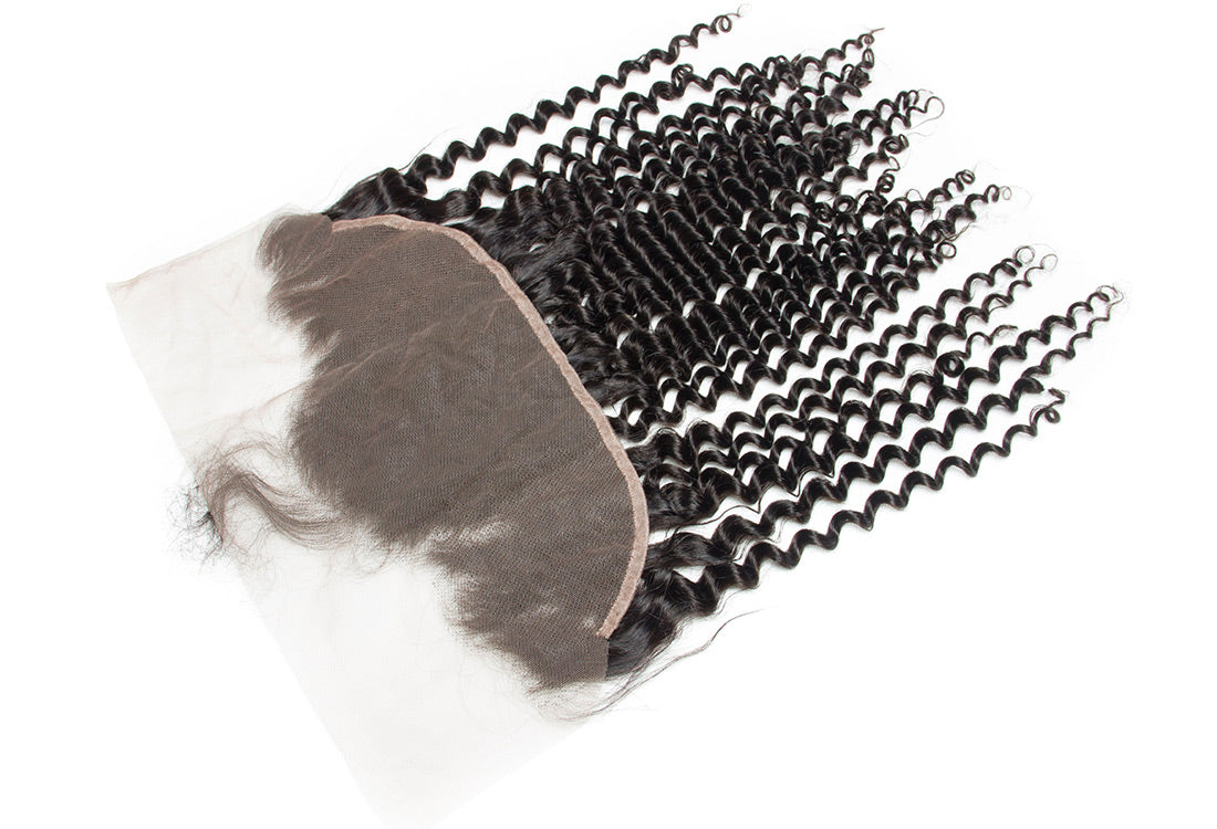 ms remy hair curly 13x6 lace frontal closure image 13x6 lace frontal in description