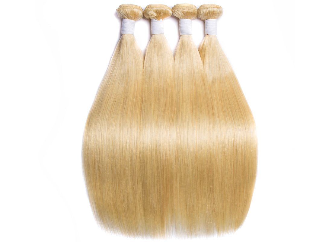 ms hair blonde color #613 straight hair bundles in description