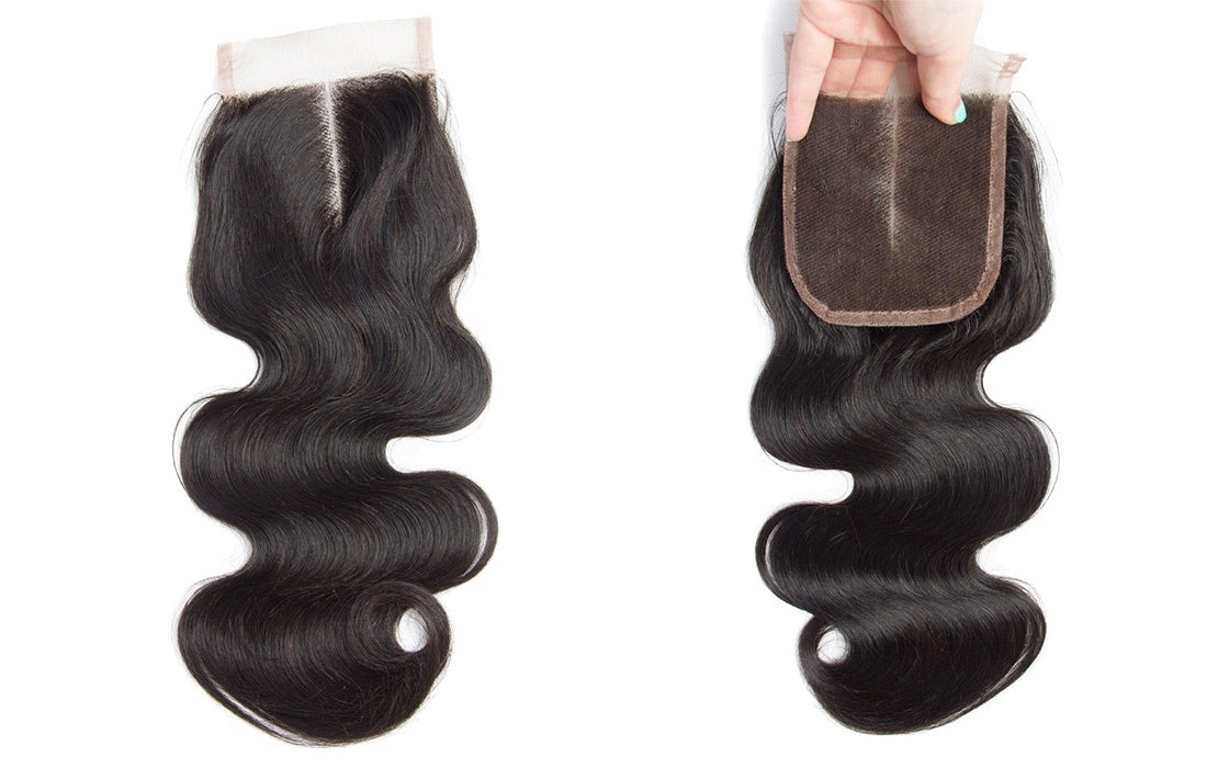 modern show remy body wave lace closure middle part show in description