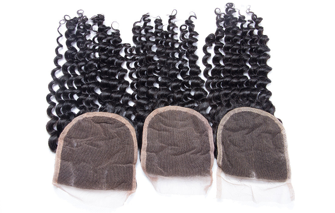 ms remy curly lace closure lace image show in description