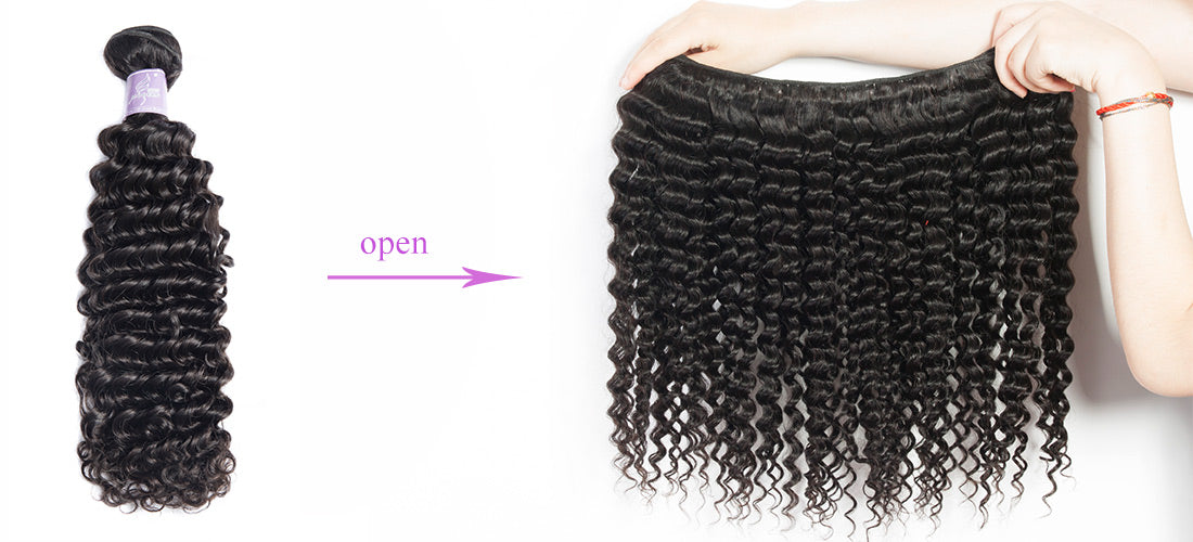 remy curly hair bundles hair weft show in description