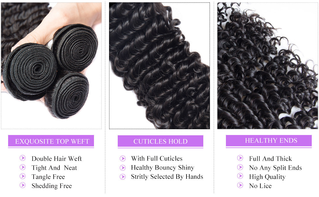 remy curly hair bundles details show in description