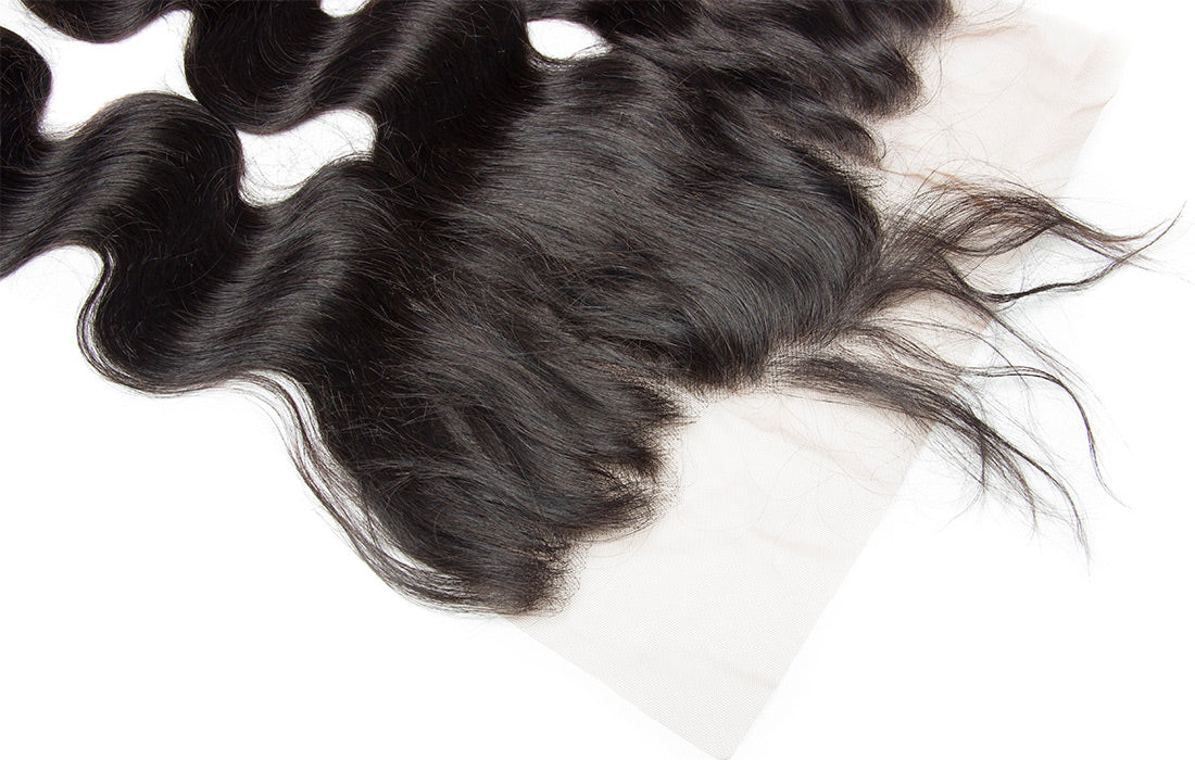 ms remy hair body wave 13x6 lace frontal image pre plucked hairline show in description