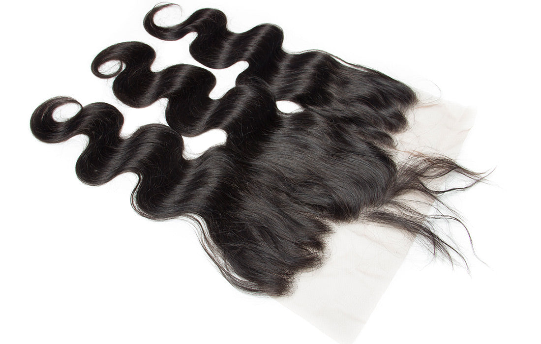 ms remy hair body wave 13x6 lace frontal image baby hair show in description