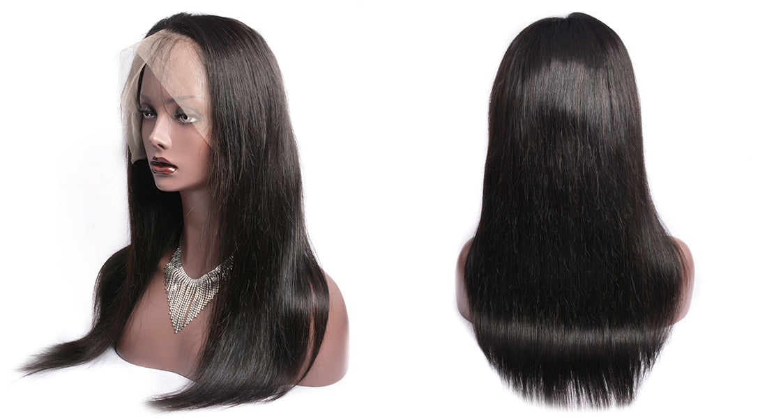ms remy hair 13x6 transparent lace front wigs straight wigs side show in description