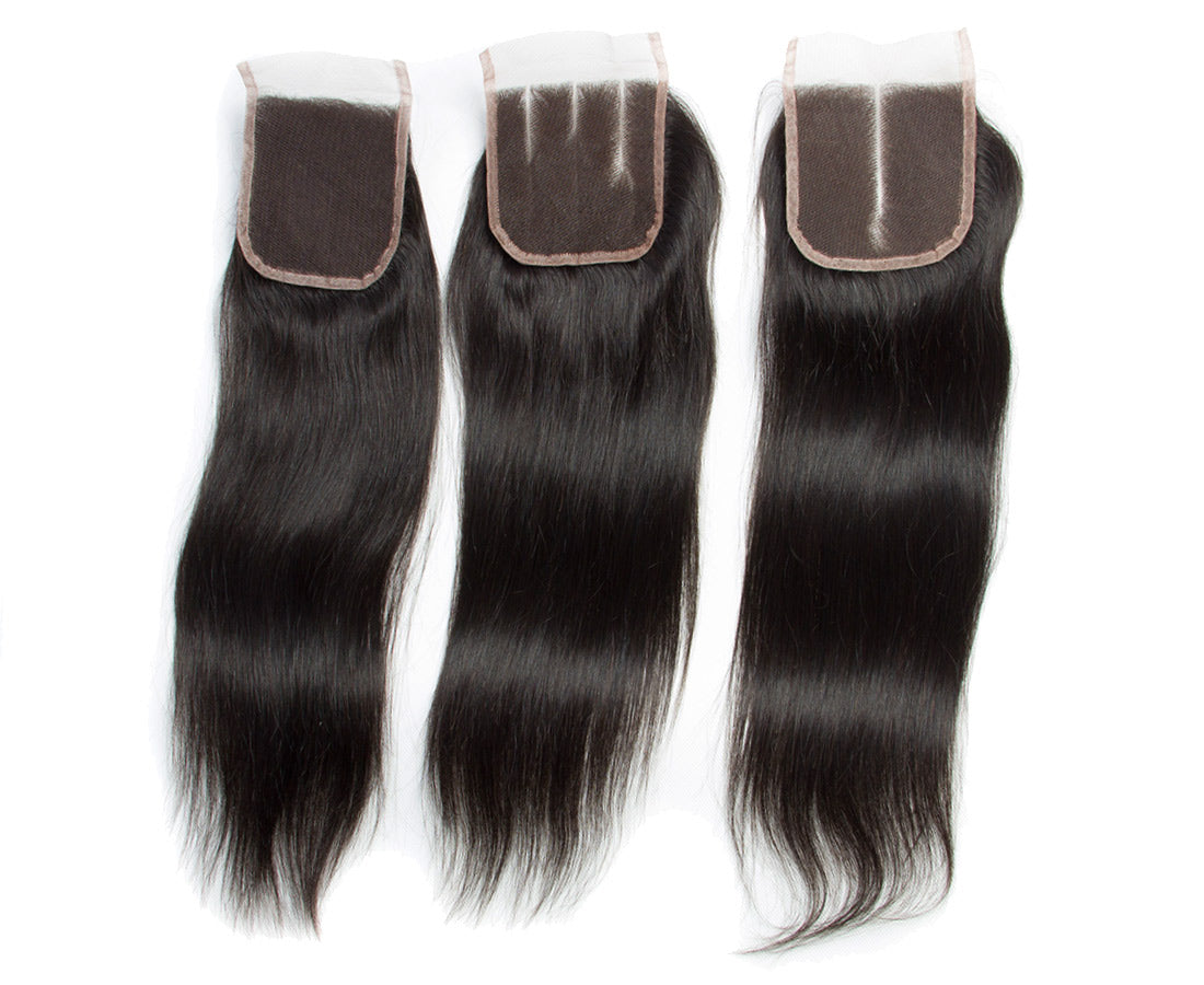 ms remy straight lace closure part show in description