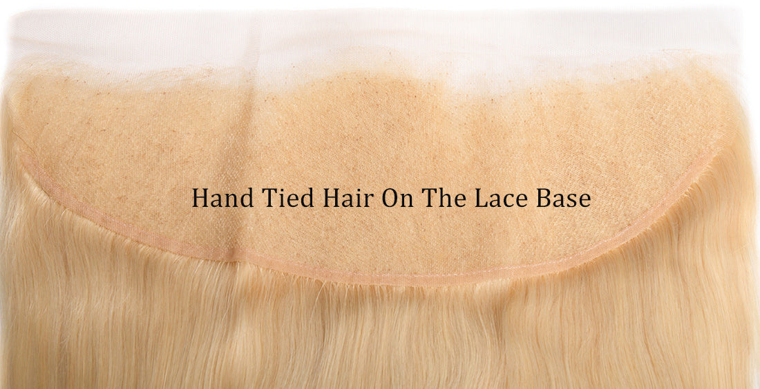 ms 613 blonde color straight lace frontal lace show in description