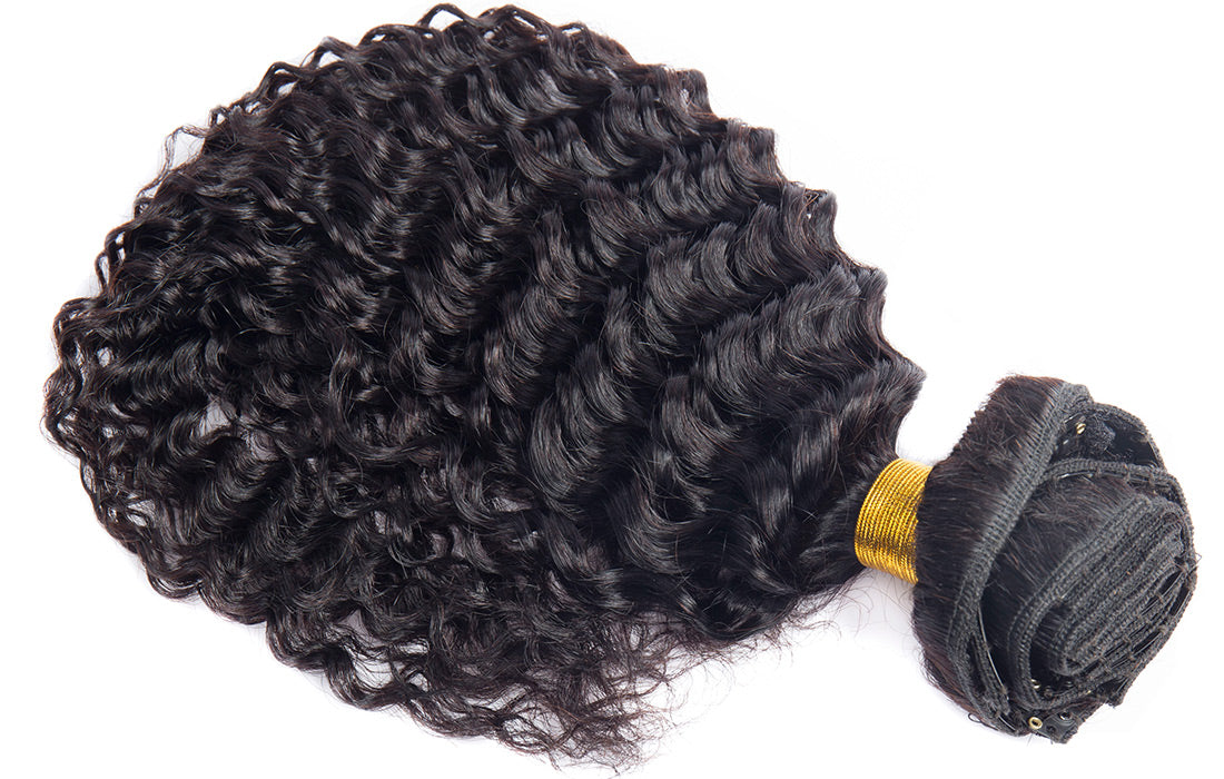 ms curly human hair clip in hair extensions in description