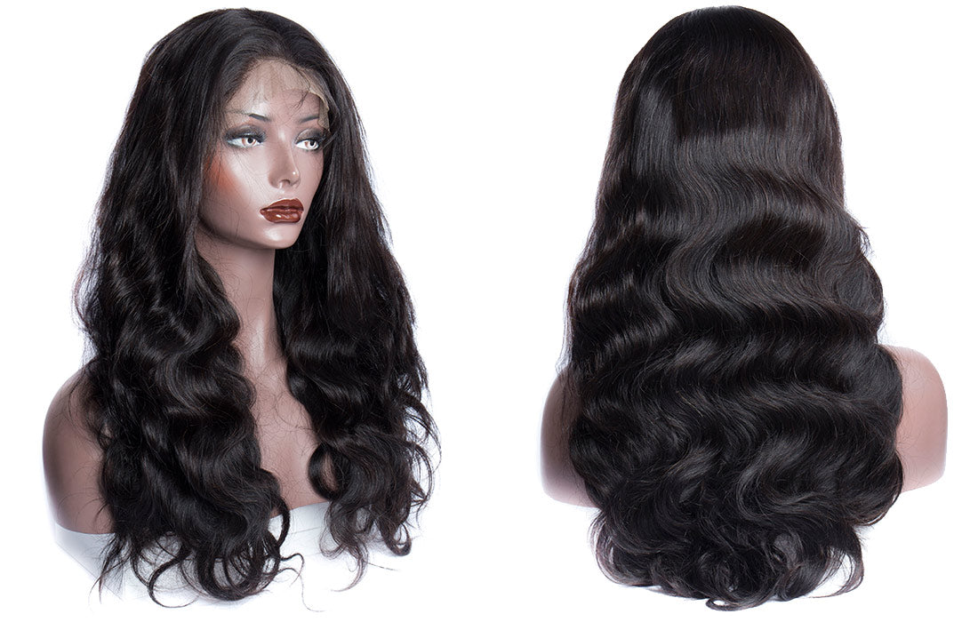 ms body wave lace front wigs 150 density image show in description