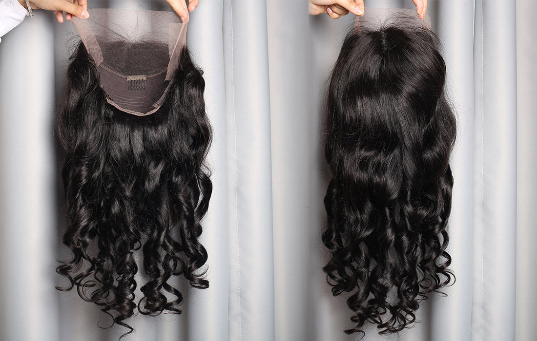 ms loose wave lace front wigs 150 density real wig image show in description