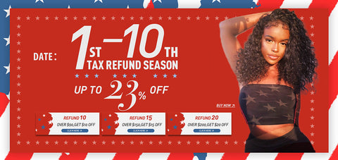 tax refund season promotions