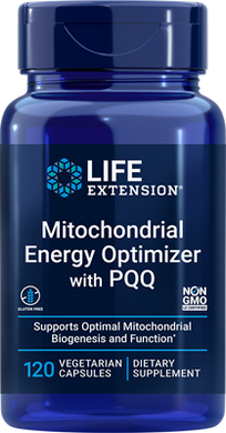 Mitochondrial Energy Optimizer with PQQ, 120 vegetarian capsules - HENDRIKS SCIENTIFIC