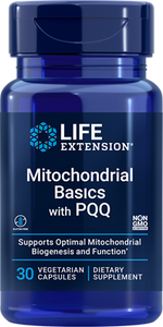 Mitochondrial Basics with PQQ, 30 vegetarian capsules - HENDRIKS SCIENTIFIC