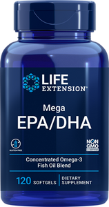 Mega EPA-DHA, 120 softgels - HENDRIKS SCIENTIFIC
