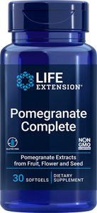 Pomegranate Complete, 30 softgels - HENDRIKS SCIENTIFIC