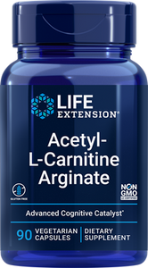 Acetyl-L-Carnitine Arginate, 90 vegetarian capsules - HENDRIKS SCIENTIFIC