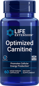 Optimized Carnitine, 60 vegetarian capsules - HENDRIKS SCIENTIFIC