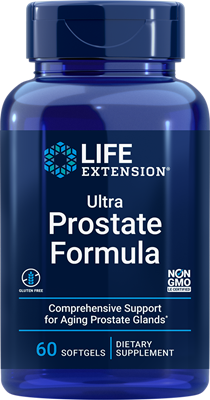 Ultra Prostate Formula, 60 softgels - HENDRIKS SCIENTIFIC