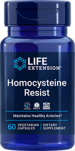 Homocysteine Resist, 60 vegetarian capsules - HENDRIKS SCIENTIFIC