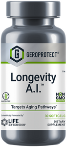 GEROPROTECT® Longevity A.I.™, 30 softgels - HENDRIKS SCIENTIFIC